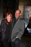 Lori Weintraub, Miguel Ferrer — Stock Photo