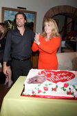 Melody Thomas Scott, Joshua Morrow — Stock Photo