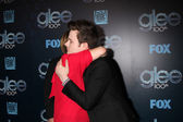 Romy Rosemont, Chris Colfer — Stock Photo