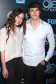 Melissa Benoist, Blake Jenner — Stock Photo