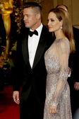 Brad Pitt, Angelina Jolie — Stockfoto