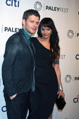 Joseph Morgan, Persia White — Stock Photo