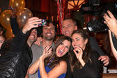 Daniel Goddard, Joshua Morrow, Sean Carrigan, Melissa Claire Egan, Amelia Heinle — Stock Photo