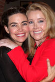 Amelia Heinle, Melody Thomas Scott — Stock Photo