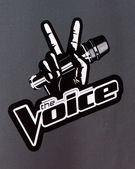 The Voice Emblem — Stock Photo