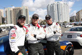 Max Thieriot, Cole Hauser, Brett Davern — Stock Photo