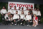 Celebrity Racers — Stock Photo