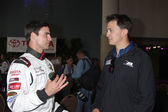 Colin Egglesfield, Graham Rahal — Stock Photo
