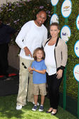 Hank Baskett, Hank Baskett IV, Kendra Wilkinson — Stock Photo