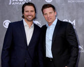 Joshua Morrow, Steve Burton — Stock Photo