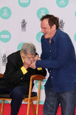 Jerry Lewis, Quentin Tarantino — ストック写真