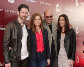 Darren Le Gallo, Amy Adams, John Varvatos, Joyce Varvatos — Stock Photo