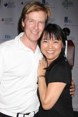 Jack Wagner, Lori Loo — Stock Photo