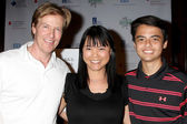 Jack Wagner, Lori Loo, Quinten Lepak — Stock Photo