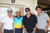 David Spade, Kevin Farley, golfers — Stock Photo
