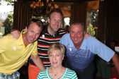 Dennis Wagner Family — Stock Photo
