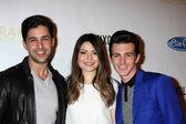 Josh Peck, Miranda Cosgrove, Drake Bell — Stock Photo