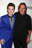 Drake Bell, father Joe Bell — Stock Photo
