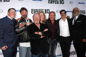 Deadliest Catch Cast & Execs, Discoery Execs — Stock Photo