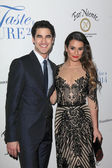 Darren Criss, Lea Michele — Stock Photo