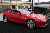 2014 Jaguar F Type Coupe — Stock Photo
