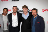 Pooch Hall, Liev Schreiber, Dash Mihok, Eddie Marsan — Stock Photo