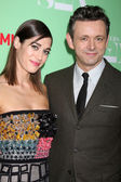 Lizzy Caplan, Michael Sheen — Stock Photo