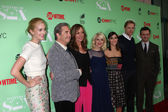 Caitlin FitzGerald, Beau Bridges, Allison Janney, Annaleigh Ashford, Lizzy Caplan, Teddy Sears, Michael Sheen — Stock Photo