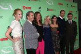 Caitlin FitzGerald, Beau Bridges, Allison Janney, Annaleigh Ashford, Lizzy Caplan, Teddy Sears, Michael Sheen — Stock Photo