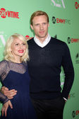 Caitlin FitzGerald, Teddy Sears — Stock Photo