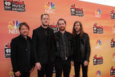 Ben McKee, Dan Reynolds, Daniel Platzman and Wayne Sermon, Imagine Dragons — Stock Photo