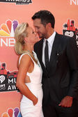 Luke Bryan, Caroline Boyer — Stock Photo