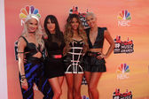 Lauren Bennett, Natasha Slayton, Emmalyn Estrada, Paula Van Oppen — Stock Photo