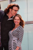 Rick Springfield, Barbara Porter Springfield — Stock Photo