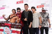 Jai Brooks, Daniel Sahyounie, Luke Brooks, James Yammouni, Beau Brooks, The Janoskians — Stock Photo