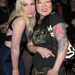 Natasha Bedingfield, Margaret Cho — Stock Photo