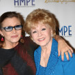 Carrie Fisher, Debbie Reynolds — Stock Photo #46380019