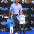 Boris Kodjoe, daughter Sophie, son Nicolas — Stock Photo #46389683