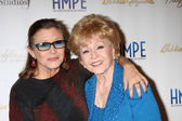 Carrie Fisher, Debbie Reynolds — Stock Photo