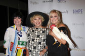 Jo Anne Worley, Ruta Lee, Catherine Hickland — Stock Photo