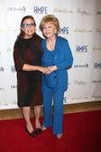Carrie Fisher, Debbie Reynolds — Stock Photo