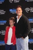 Adrian Pasdar, son Jackson Pasdar — Stock Photo