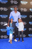 Boris Kodjoe, daughter Sophie, son Nicolas — Stock Photo