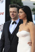 Michael Sheen, Sarah Silverman — Stock Photo