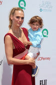 Molly Sims, Brooks Stuber — Stock Photo