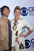 Eric Christian Olsen, Sarah Wright — Stock Photo