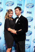 Jill Goodacre, Harry Connick Jr — Foto de Stock