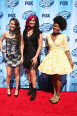 Kristen O'Connor, Jessica Meuse, Majesty Rose — Stock Photo