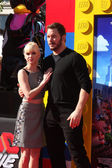 Anna Faris, Chris Pratt — Stock Photo