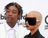 Wiz Khalifa, Amber Rose — Stock Photo